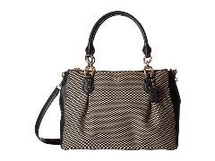 COACH - Exploded Rep Colette Carryall (Milk/Black) Handbags -  One Size