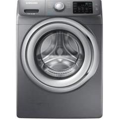 Samsung Front-Load Steam Washer - 4.2 Cu. ft. - Platinum (WF42H5200AP)