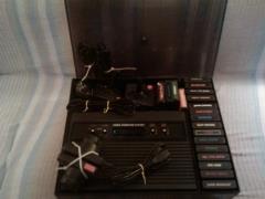 Atari 2600 Video Computer System with 19 Game Cartridges -  Atari, Inc.