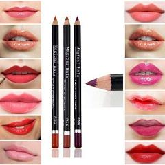 Yoyorule Cosmetic Lip Liner Lipliner Pen Pencil Fashion Makeup Waterproof (BK/02)