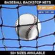 Baseball Backstop Nets - 50+ Sizes Available (25. 16' x 100') -  Net World Sports