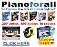 Piano For All-The Ingenious New Way to Learn Piano & Keyboard for PC or MAC -  Robin Hall