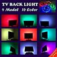 Chiyou Multi Color Neon USB LED Strip Lamp Bias Backlight RGB LED Strip Lights with Remote Control for HDTV, bedroom , Flat Screen TV and Desktop PC and More (3M 9.9FT)