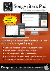 Songwriter's Pad - Professional Songwriting Software [Download] -  Paragoni