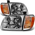 Toyota Tundra Pickup Clear Headlights With Corner Lights Replacement Driver + Passenger Side Pair -  AKKON