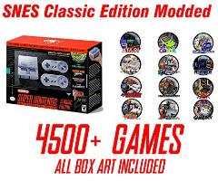 Snes classic modded 300+ games -  Matts toys