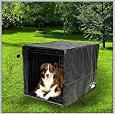 Sofantex Black Crate Cover for Wire Crate (30X19X21)